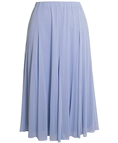 Plus Size Alex Evenings 432273 Skirt --Size: 1x Color: Hydrangea