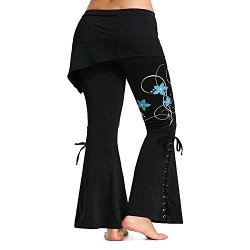 Occhielli Pantaloni Colour Autunno Alessioy Libero Butterfly Vita Lacci Monocromo 4 Tempo Primaverile Metallici Grazioso Elastica Colpo Leggins Lunga Pants Con Donna 7HdCdxq