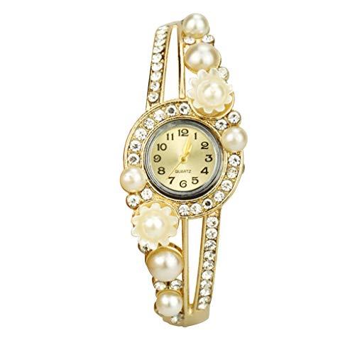 Hotkey Womens Bracelet Watches On Sale European and American New Fashion Ladies Diamond Quartz Watch