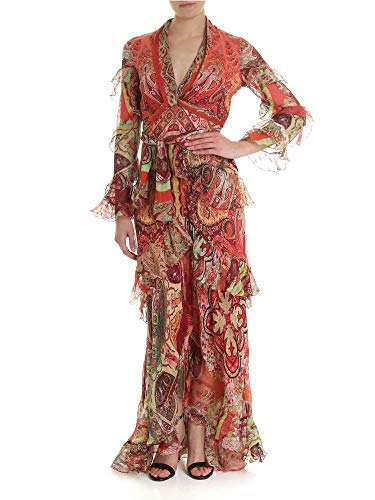 ETRO Women's 148874305600 Red Silk - Etro Womens Apparel
