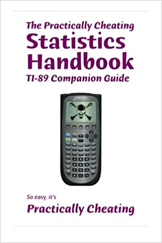 Amazon the practically cheating statistics handbook ti 89 the practically cheating statistics handbook ti 89 companion guide fandeluxe Image collections