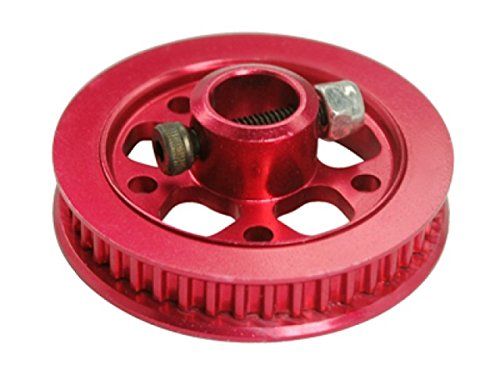 Microheli CNC Aluminum Tail Drive Pulley (RED) - Blade 300 - Tail Drive Pulley