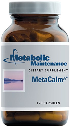 (Metabolic Maintenance MetaCalm - Neurotransmitter Support with GABA, 5-HTP, L-Theanine + B6 as P-5-P (120 Capsules))