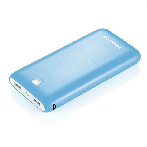 Poweradd Pilot X7 20000mAh Portable Charger External Battery Power Bank for iPhone, iPad and Samsung and more-Blue