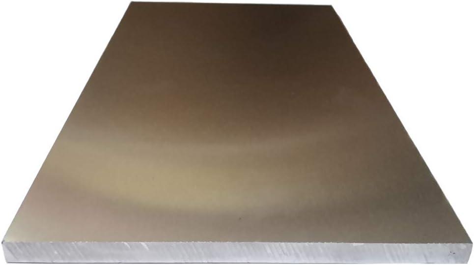 "AbbottoKaylan .315""Thickness 6""Width x12""Length Aluminum Sheet 6061-T6 Aluminum Tooling Flat Sheet Plate Bar Mill Stock"