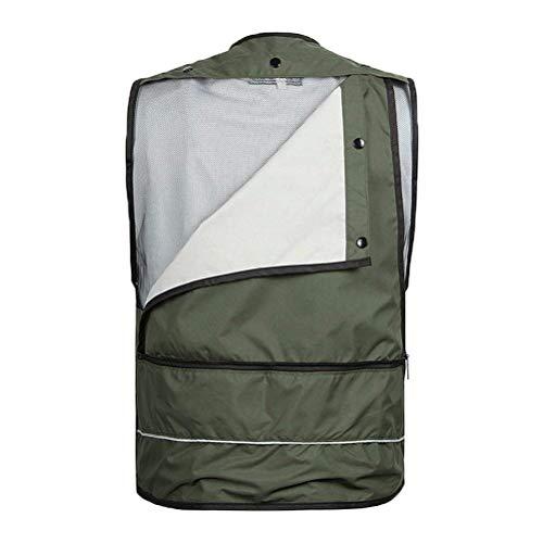 Pour Essentiel Hommes Safari Air Mesh Chasse Kaki Gilet Qualité Respirant En Camping Plein Photographie Pêche Veste Pratique RFYSp0wqS