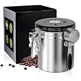 Best Sunshine Canister Vacuums - Coffee Canister Stainless Steel Coffee Canister Airtight With Review