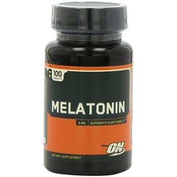 Optimum Nutrition Melatonin 3mg, 100 Tablets  (Pack of 6)
