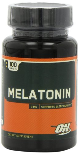 Optimum Nutrition Melatonin Tablets Pack