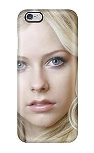 diy zhengExcellent Design Celebrity Avril Lavigne Phone Case For iPhone 6 Plus Case 5.5 Inch Premium Tpu Case