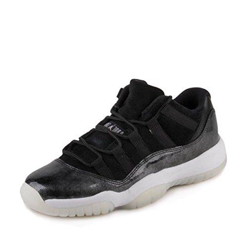 Jordan Air 11 Retro Low BG Barons Youth Lifestyle Sneakers New Black - 7