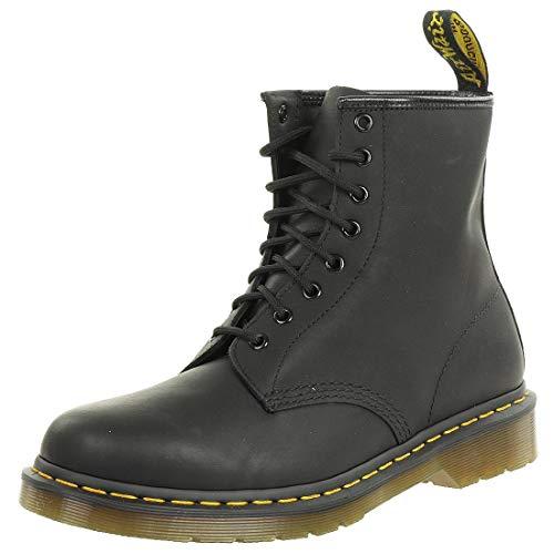 - Dr. Martens 1460 8 Eye Boot Combat, Black Greasy, 9.5 Medium UK (US Men's 10 US)