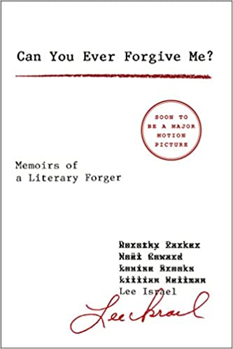 Image result for can you ever forgive me book