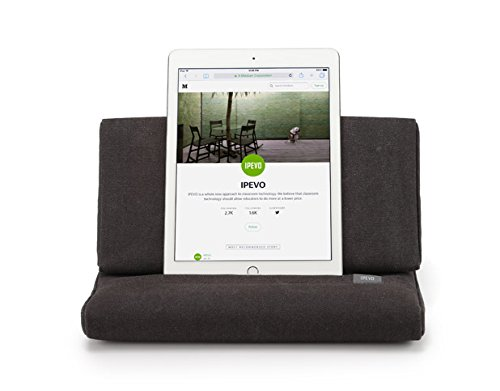 IPEVO PadPillow Pillow Stand for iPad -Charcoal Gray