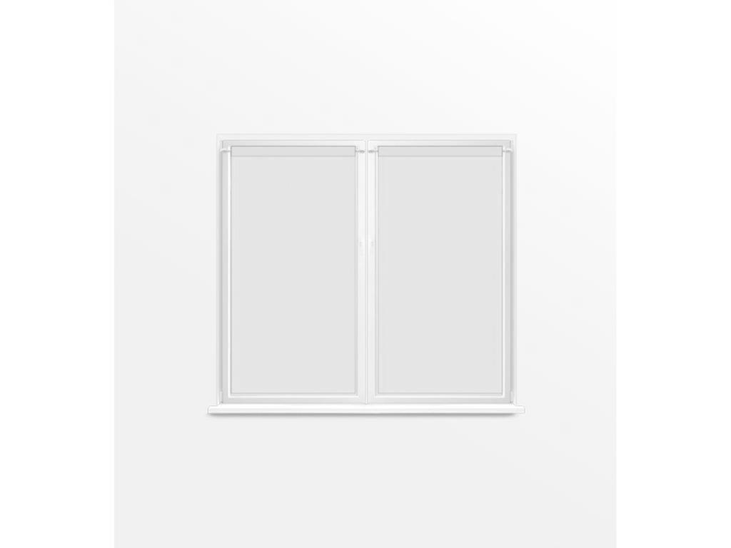 Soleil d'ocre Dolly Paire de Brise Bise, Polyester, Blanc, 70x120 cm Selartex 047553
