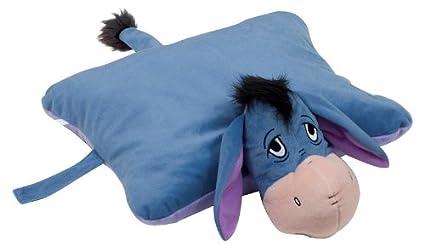 Disney - Almohada extragrande 2 en 1 (46 cm, almohada y peluche), diseño de Igor: Amazon.es: Hogar