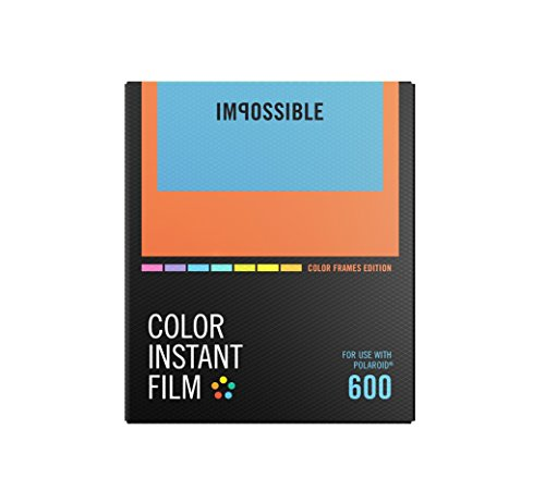Impossible PRD4522 Polaroid 600 and Instant Lab Film, Color with Color Frames by Impossible
