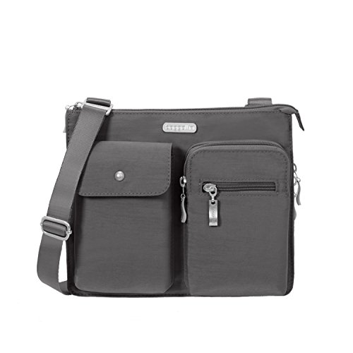 Baggallini Everything Travel Crossbody Bag, Charcoal
