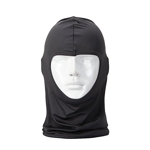 Lycra Quick Dry Breathable Well Full Face Mask Soft Skin-friendly Balaclava Hood For Motorcycle Ski Cycling and other Outdoor Sports -For Women and Men