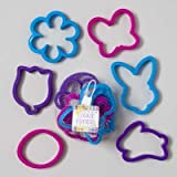 6 Pc Easter Cookie Cutters