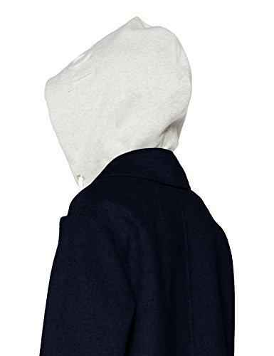 Ivo Manteau Hooded Blend Femme Wool Coat 443 Tommy Hilfiger DF Peacoat Bleu 4qn057