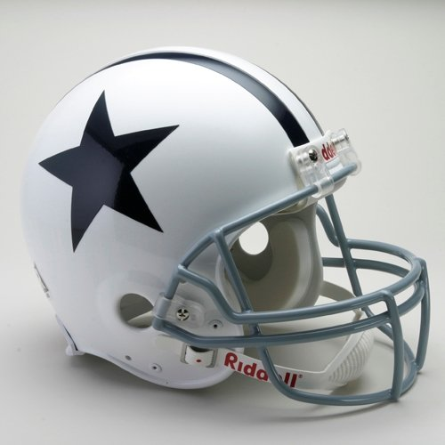 (Riddell Dallas Cowboys Authentic Proline Throwback Helmet: 1960-1963 Authentic)