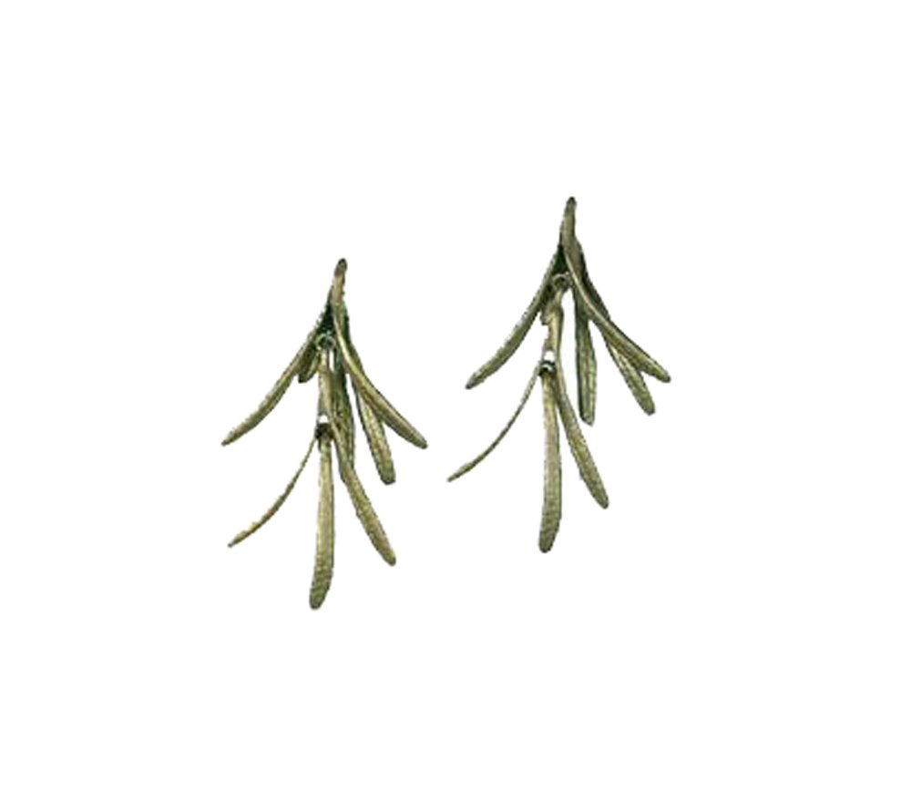 ''Rosemary'' Short Earrings by Michael Michaud for Silver Seasons