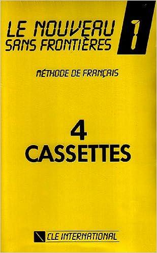 LE NOUVEAU SANS FRONTIERES NIVEAU 14 CASSETTES COLLECTIVES