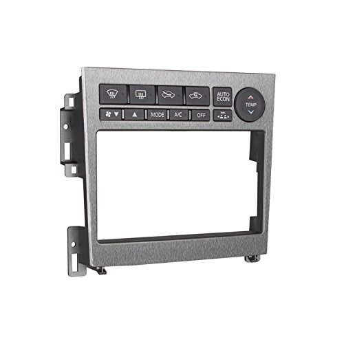 Metra 95-7605A Double DIN Installation Kit for 2005-2007 Infiniti G35 Vehicles (Silver) -