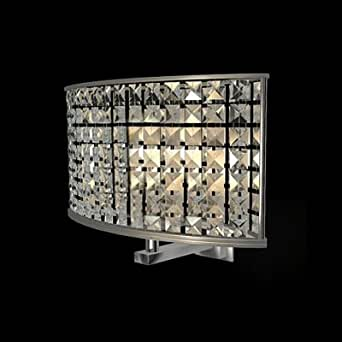 hua Gleaming One Light Wall Sconce with Modern Iron Oval Clear Shade Creating Warm Illumination