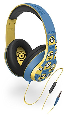Price comparison product image KIDdesigns - Minions Over-the-Ear Headphones with In-line Microphone