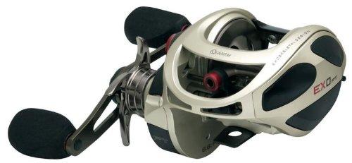 Zebco Exo PT 5.3:1 Baitcasting Fishing Reel, 300, Right Hand