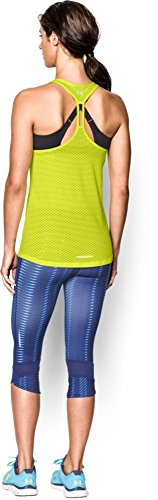 Fly Amarillo Tirantes Mesh Stretch Armour Para Mujer De Under By Camiseta T0xnU0wvq