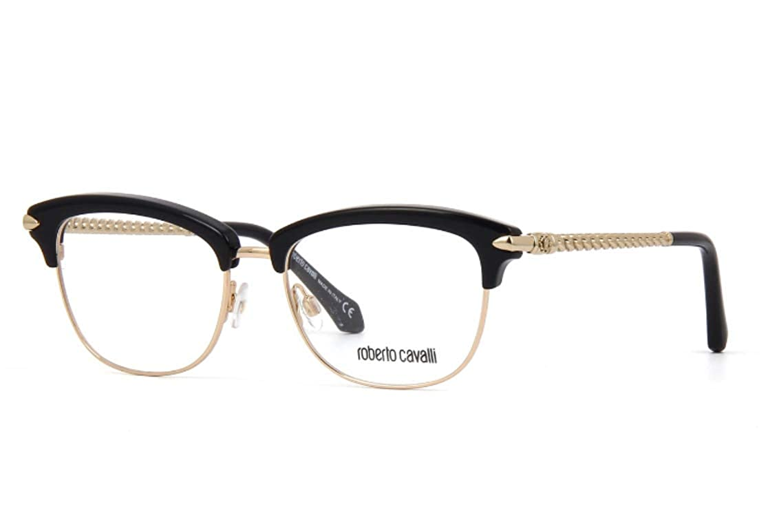 c3e8c8e6dcbca Eyeglasses Roberto Cavalli RC 5046 Fauglia 001 shiny black at Amazon Men s  Clothing store
