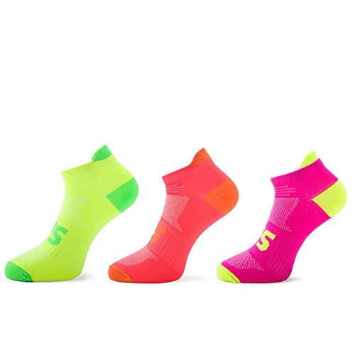 Blister Resist Light Running Socks low cut (M, 3-Pack (Blister Free Low Cut Sock)