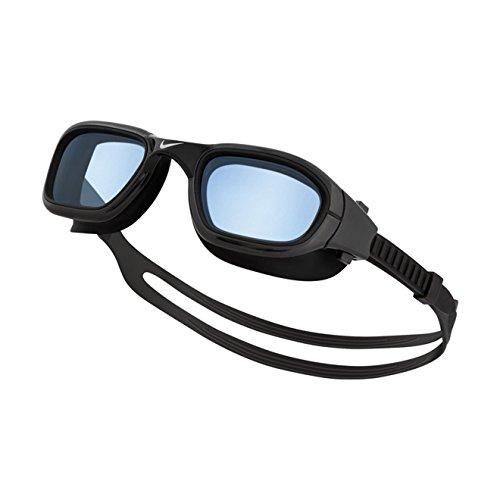 NIKE Swim Training One Piece Frame Goggle Black - Nike Goggles