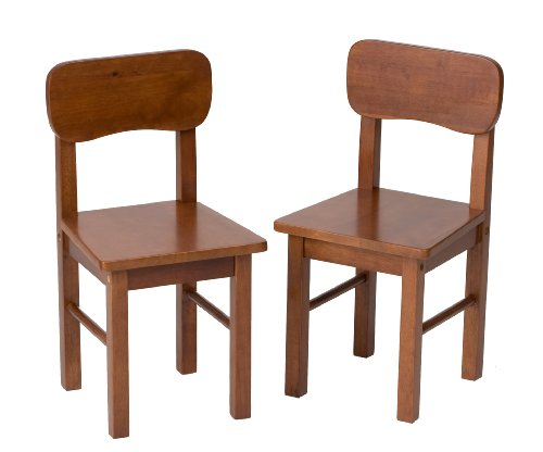 (Gift Mark Children's 2 Chair Set Designed to match 1407C Table, Cherry)