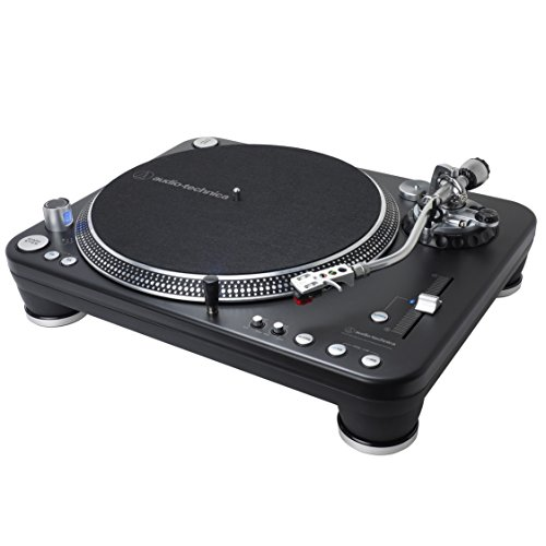 Audio Technica AT-LP1240-USB XP Direct-Drive Professional DJ Turntable (USB & Analog)