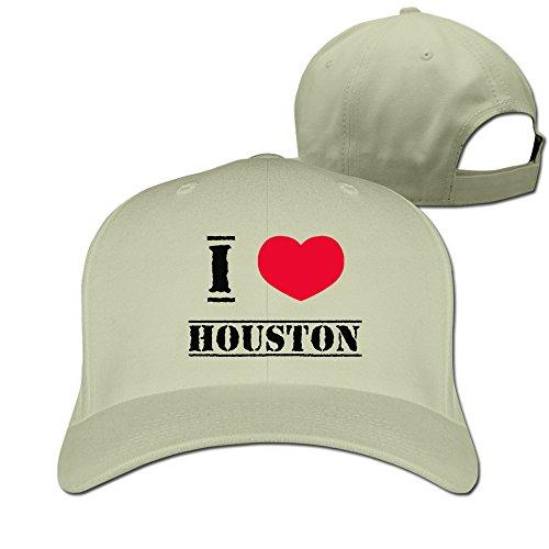 Unisex I Love Houston Adjustable Hat-Baseball - Rockets Houston Mural
