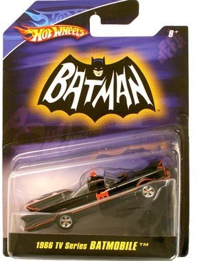 Hot Wheels > 1966 TV Series Batmobile Vehicle 1/50 Scale
