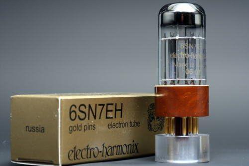 6SN7GT EHゴールド 6本マッチ 中ゲイン 真空管PG12