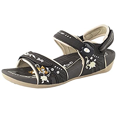 Gold Pigeon Shoes GP5991 Comfort Adjustable Straps Outdoor Water Snap Lock Sandals For Women