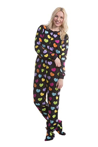 Solid Footed Sleeper Pajamas - 5
