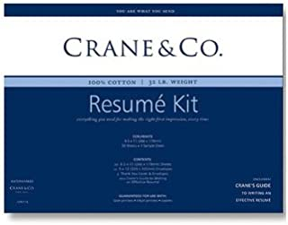 product image for Crane & Co. Pearl White Resume Kit (CPR911)