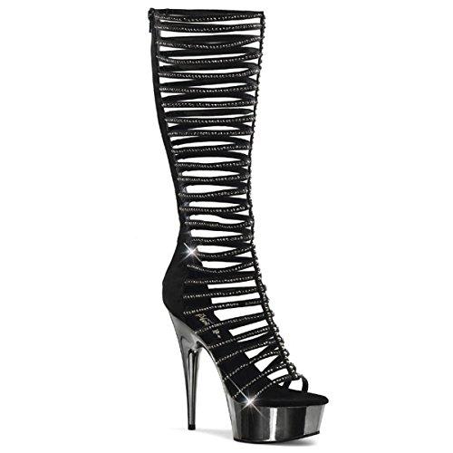 Pleaser Delight-600-44 - sexy plateau talon hauts chaussures femmes sandalettes 35-45