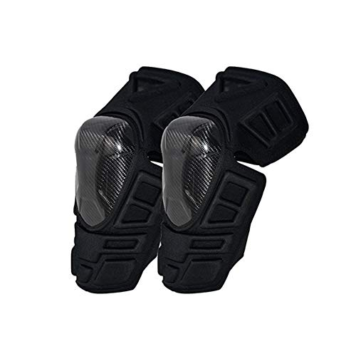 TZTED 1 Pair Cycling Knee Brace Bicycle MTB Bike Motorcycle Riding Knee GuardsGuards Outdoor Sports Cycling Knee Protector Gear,Black