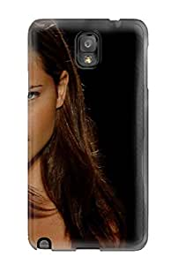 Durable Defender Case For Galaxy Note 3 Tpu Cover(adriana Lima)