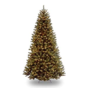 National Tree 7.5 Foot North Valley Spruce Tree with 550 Dual Color LED Lights and On/Off Switch, Hinged (NRV7-300LD-75S) 84