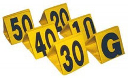 Champro Football Yard Markers (Colors May Vary)