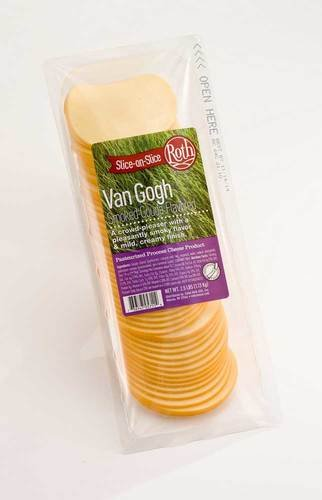 Roth Kase Signatures Slice On Slice Van Gogh Smoked Gouda Cheese, 2.5 Pound -- 4 per case. by Roth Kase (Image #2)